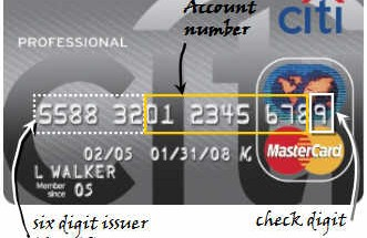 kredi karti numarasi