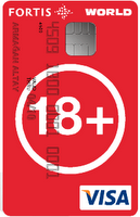 fortis 18plus worldcard