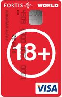 fortis 18plus worldcard