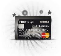 Fortis Worldcard Titanium