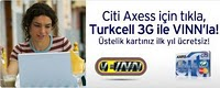 Citi Axess Turkcell 3g Kampanyasi
