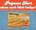 Pegasus Kart Hediye Ucak Bileti Kampanyasi