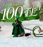 Yilbasi Bonusu 100 TL