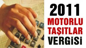 2011 motorlu tasitlar vergisi kampanyalari
