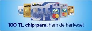 Citibank 100 TL Chip Para Kampanyasi