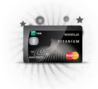Teb Titanium Worldcard