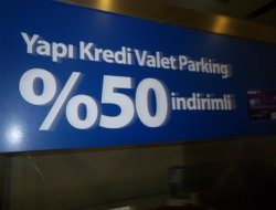 yapi kredi valet parking
