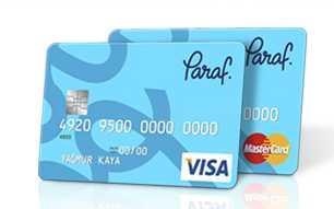 halkbank paraf card