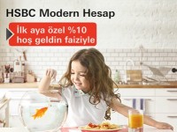 hsbc modern hesap