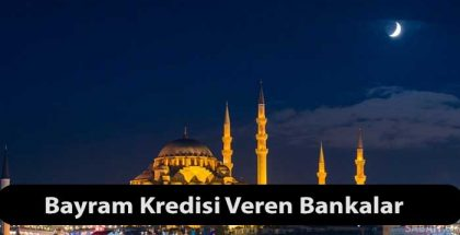 ramazan bayrami kredi 2020